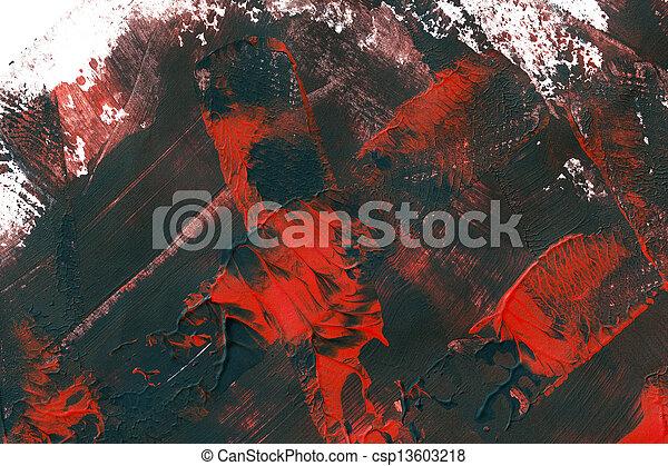 抽象的艺术, 背景 - csp13603218