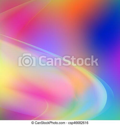 抽象的, カラフルである, 形, 背景 - csp46682616