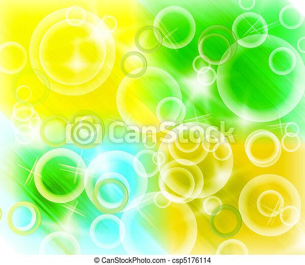 抽象的, カラフルである, 背景, ライト - csp5176114
