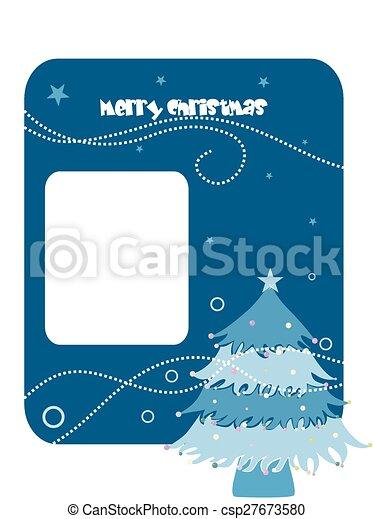 抽象的, クリスマス, 背景 - csp27673580