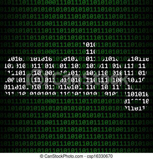抽象的, デジタル, アナログ, 関係, ∥間に∥ - csp16330670