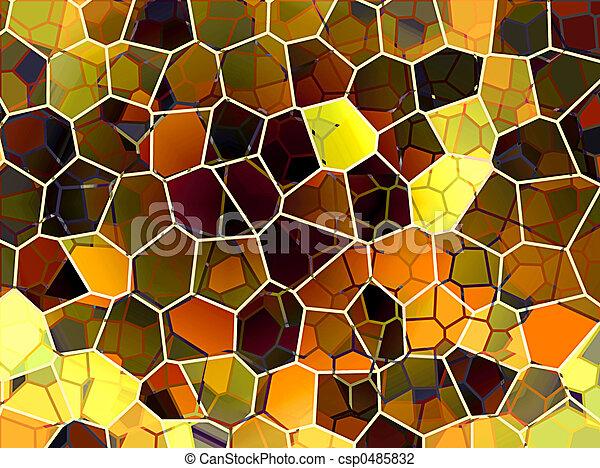 抽象的, ハチの巣 - csp0485832