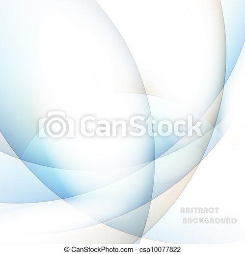 抽象的, ベクトル, 線, 背景 - csp10077822