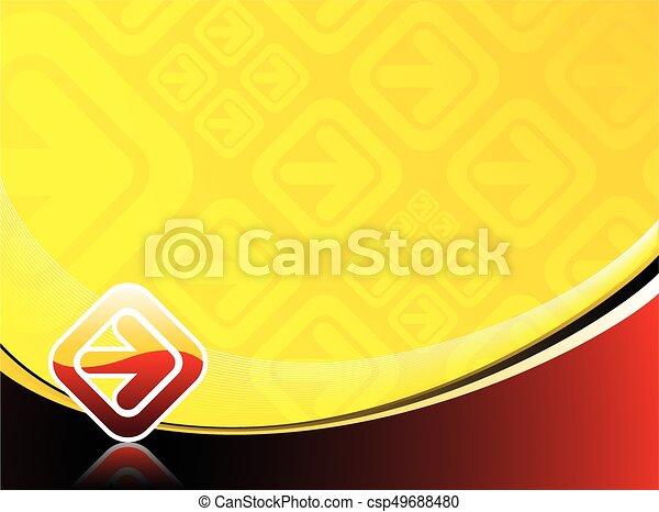 抽象的, ベクトル, 背景 - csp49688480