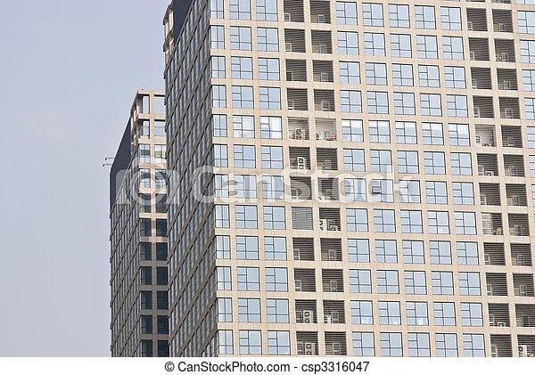 抽象的, 企業のオフィス, 背景 - csp3316047