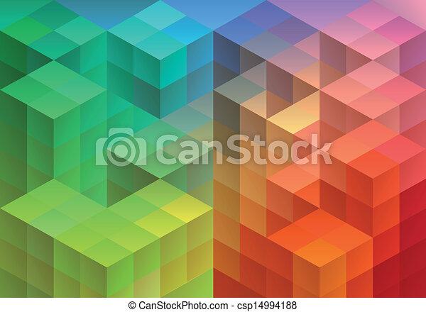 抽象的, 幾何学的, 背景 - csp14994188