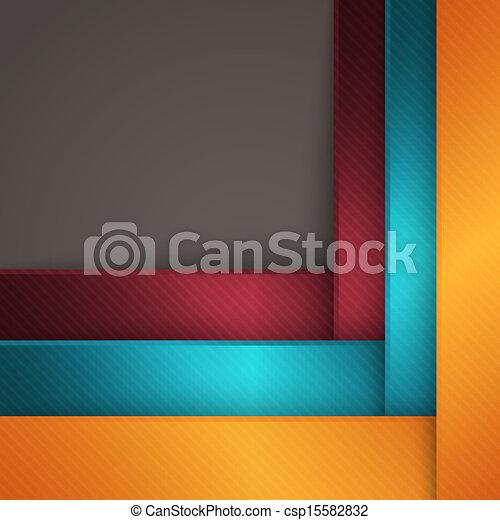 抽象的, 幾何学的, 背景 - csp15582832
