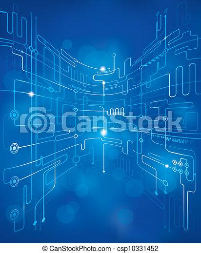 抽象的, 技術, 背景 - csp10331452