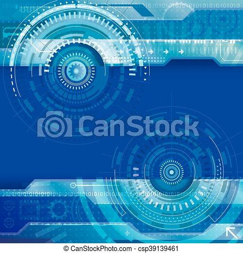 抽象的, 技術, 背景 - csp39139461