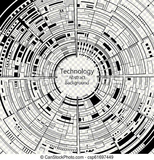 抽象的, 技術, 背景 - csp61697449