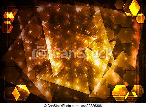 抽象的, 照明, 背景 - csp20326306