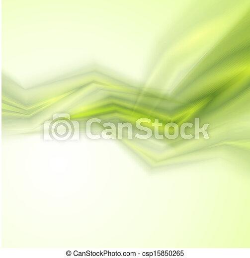 抽象的, 緑の背景 - csp15850265
