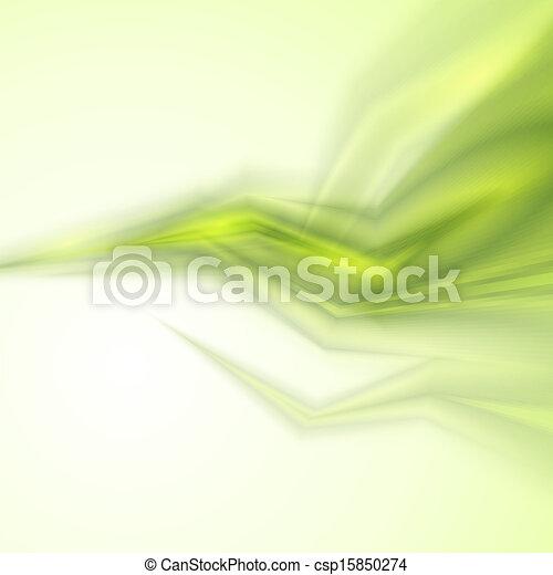 抽象的, 緑の背景 - csp15850274