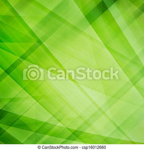 抽象的, 緑の背景 - csp16012660