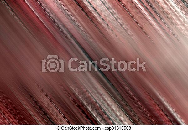 抽象的, 線, 背景, ぼやけ - csp31810508