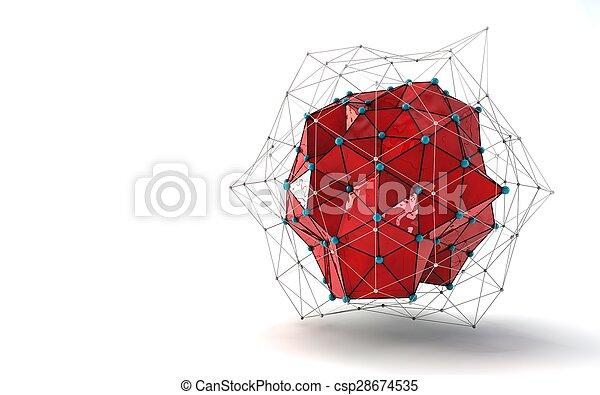 抽象的, 背景 - csp28674535