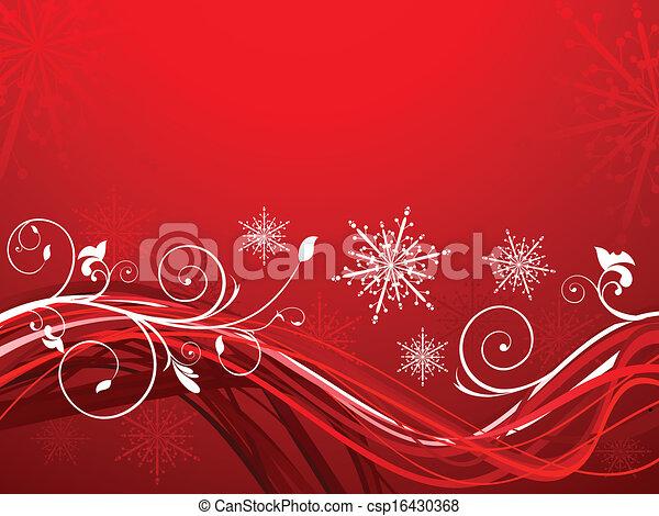抽象的, 芸術的, クリスマス - csp16430368