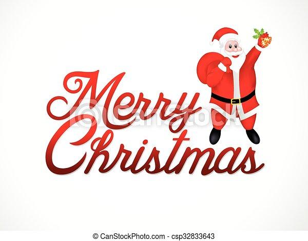抽象的, 芸術的, クリスマス - csp32833643