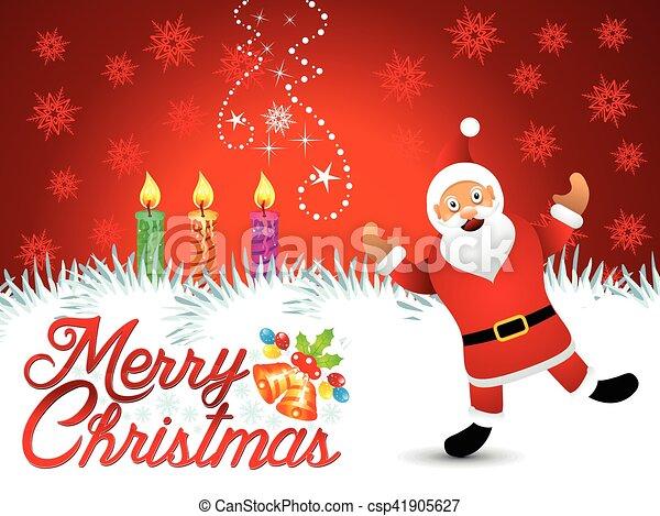 抽象的, 芸術的, background.eps, クリスマス - csp41905627