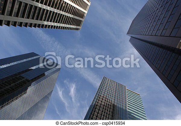 抽象的, 超高層ビル - csp0415934