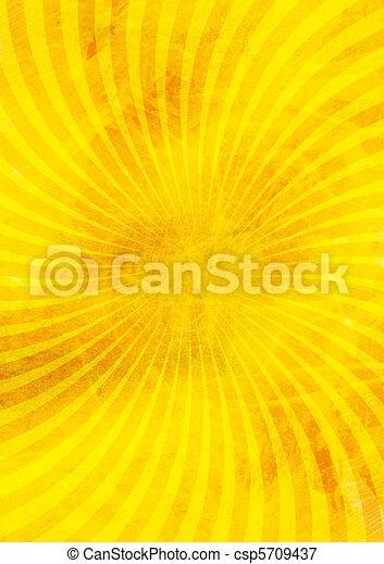 抽象的, 黄色の背景 - csp5709437