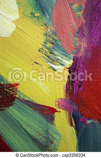 抽象藝術 - csp3356334