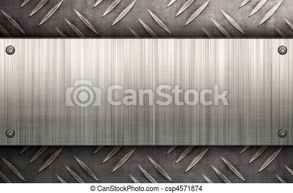 拉過絨, 布局, 金屬 - csp4571874