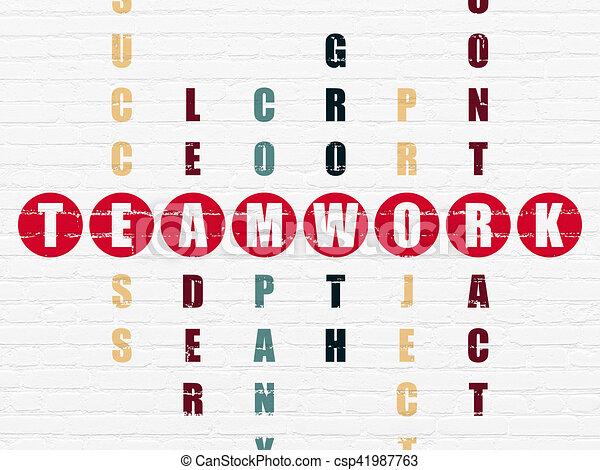 拼字游戏难题, 配合, concept:, 商业 - csp41987763