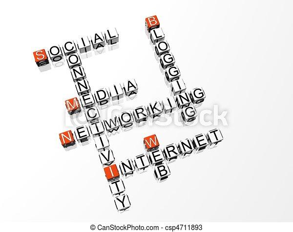 拼字游戏, 网络, 社会 - csp4711893