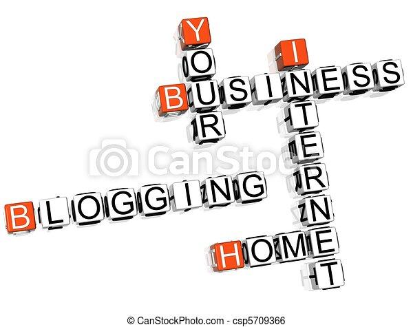 拼字游戏, blogging - csp5709366
