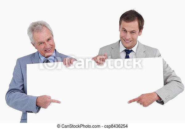 指すこと, 手, ∥(彼・それ)ら∥, 印, 微笑, ブランク, 商人 - csp8436254