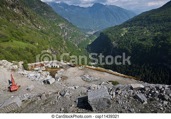 採石場 - csp11439321
