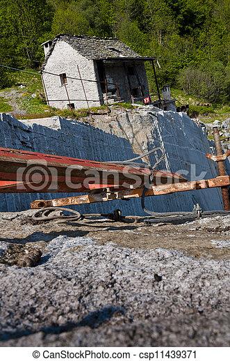 採石場 - csp11439371