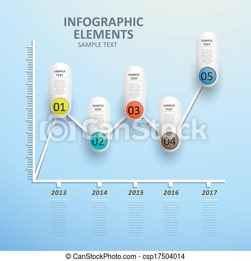 摘要, 图表, 线, infographics - csp17504014