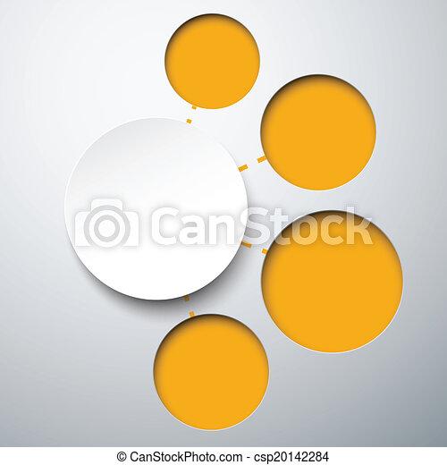 摘要, 紙, 筆記。, 輪, infographics - csp20142284