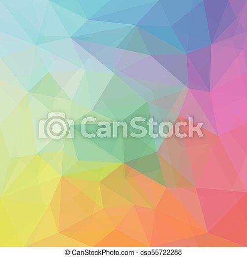摘要 色彩丰富 几何学 背景 Canstock