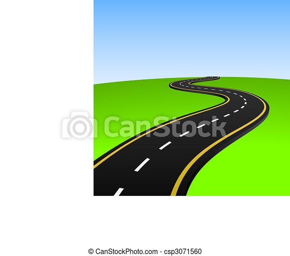 摘要, 高速公路 - csp3071560