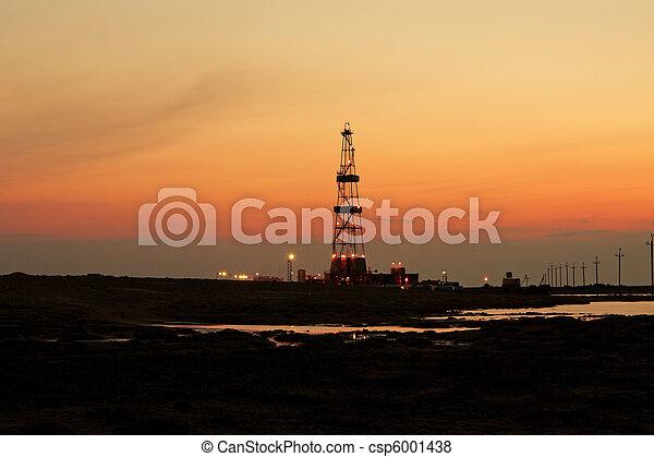 操練, sunset. - csp6001438