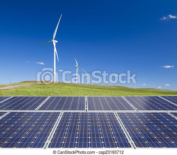 支持できる, エネルギー, きれいにしなさい - csp23193712