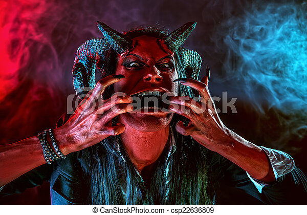 攻撃的である, 悪魔 - csp22636809