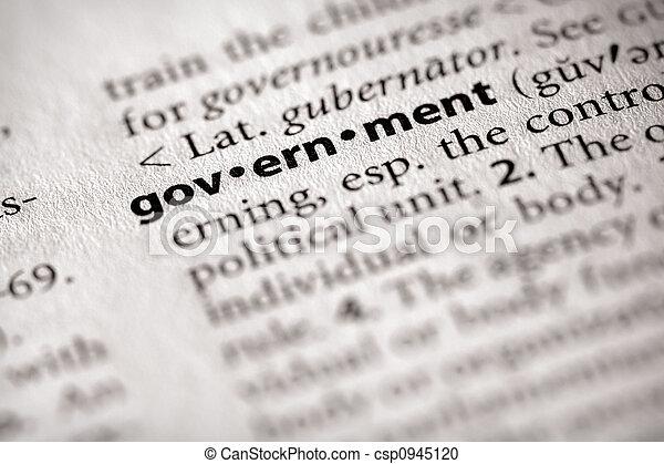 政府 - csp0945120