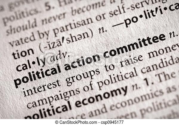 政治, actioncommittee - csp0945177