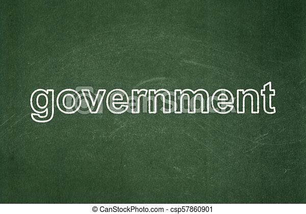 政治, concept:, 黒板, 背景, 政府 - csp57860901