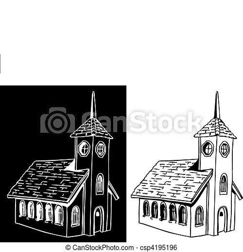 教会 - csp4195196
