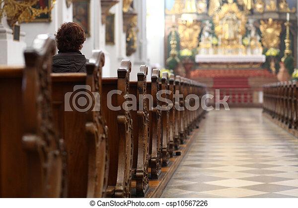 教会 - csp10567226
