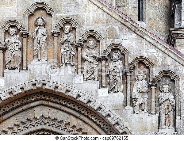 教会, ブダペスト, ファサド, jak - csp69762155