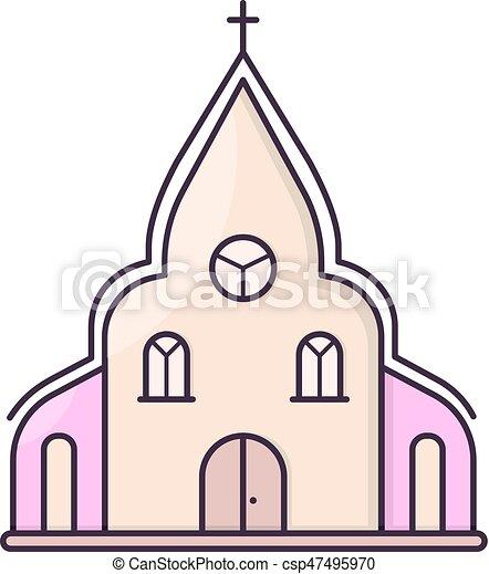 教会 建物 チャペル ロマンチック 単純である 甘い シンボル