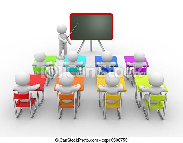 教室 - csp10508755