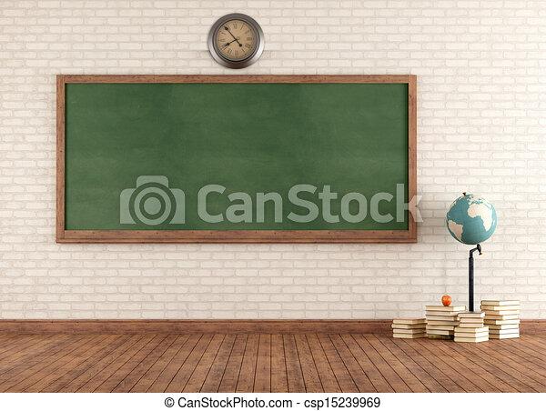 教室, 型, 空 - csp15239969