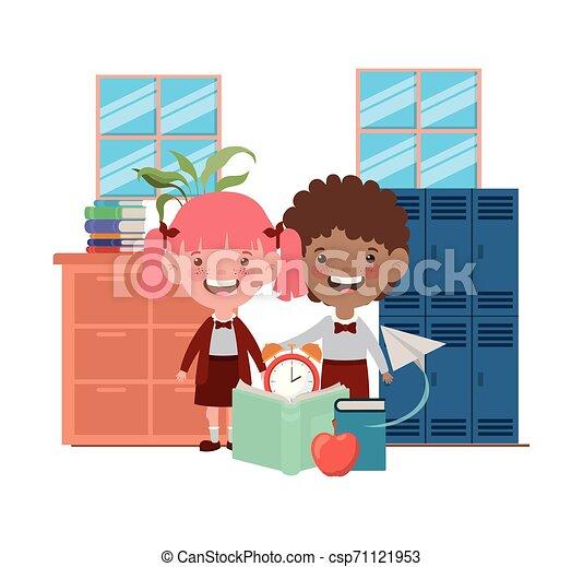 教室, 生徒, 学校, suppliesin, 恋人 - csp71121953